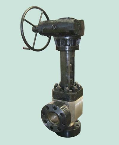 产品详情 -高压阀门-高压尿素不锈钢截止阀   高压截止阀门设计了特殊图片